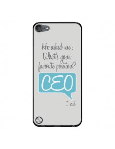Coque What's your favorite position CEO I said, bleu pour iPod Touch 5 - Shop Gasoline