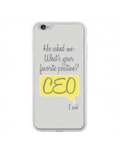 Coque What's your favorite position CEO I said, jaune pour iPhone 6 Plus et 6S Plus - Shop Gasoline