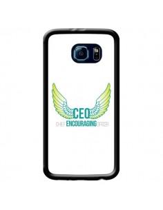 Coque CEO Chief Encouraging Officer Vert pour Samsung Galaxy S6 - Shop Gasoline