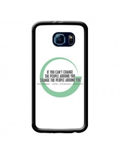 Coque Peter Shankman, Changing People pour Samsung Galaxy S6 - Shop Gasoline