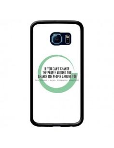 Coque Peter Shankman, Changing People pour Samsung Galaxy S6 Edge - Shop Gasoline