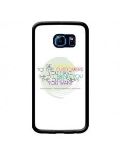 Coque Peter Shankman, Customers pour Samsung Galaxy S6 Edge - Shop Gasoline