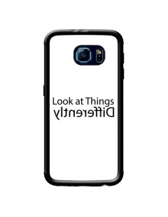 Coque Look at Different Things Black pour Samsung Galaxy S6 - Shop Gasoline