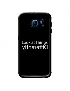 Coque Look at Different Things White pour Samsung Galaxy S6 - Shop Gasoline