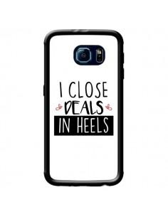 Coque I close Deals in Heels pour Samsung Galaxy S6 - Shop Gasoline