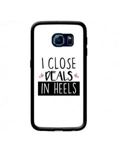 Coque I close Deals in Heels pour Samsung Galaxy S6 Edge - Shop Gasoline