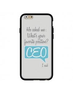 Coque What's your favorite position CEO I said, bleu pour iPhone 6 et 6S - Shop Gasoline