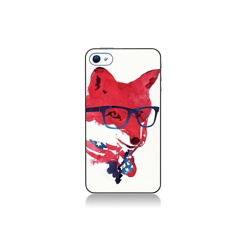 Coque American Fox pour iPhone 4 et 4S