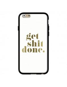 Coque iPhone 6 et 6S Get Shit Done Doré - Shop Gasoline