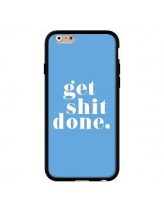 Coque iPhone 6 et 6S Get Shit Done Bleu - Shop Gasoline