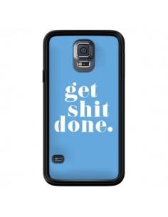 Coque Get Shit Done Bleu pour Samsung Galaxy S5 - Shop Gasoline