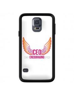 Coque CEO Chief Encouraging Officer Rose pour Samsung Galaxy S5 - Shop Gasoline