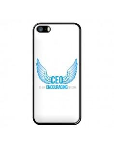 Coque iPhone 5/5S et SE CEO Chief Encouraging Officer Bleu - Shop Gasoline