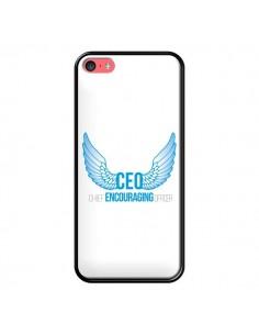 Coque CEO Chief Encouraging Officer Bleu pour iPhone 5C - Shop Gasoline