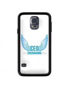 Coque CEO Chief Encouraging Officer Bleu pour Samsung Galaxy S5 - Shop Gasoline