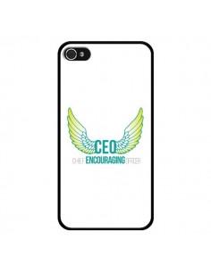 Coque CEO Chief Encouraging Officer Vert pour iPhone 4 et 4S - Shop Gasoline