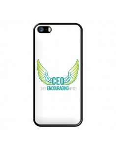 Coque iPhone 5/5S et SE CEO Chief Encouraging Officer Vert - Shop Gasoline