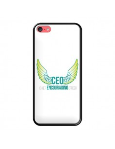 Coque CEO Chief Encouraging Officer Vert pour iPhone 5C - Shop Gasoline