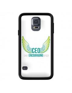 Coque CEO Chief Encouraging Officer Vert pour Samsung Galaxy S5 - Shop Gasoline