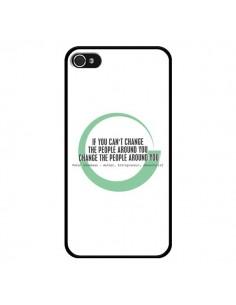 Coque Peter Shankman, Changing People pour iPhone 4 et 4S - Shop Gasoline