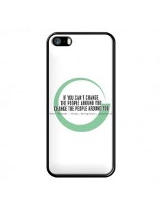 Coque iPhone 5/5S et SE Peter Shankman, Changing People - Shop Gasoline
