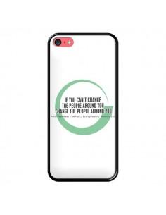 Coque Peter Shankman, Changing People pour iPhone 5C - Shop Gasoline