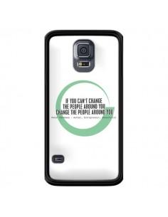 Coque Peter Shankman, Changing People pour Samsung Galaxy S5 - Shop Gasoline