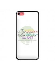 Coque Peter Shankman, Customers pour iPhone 5C - Shop Gasoline