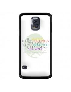 Coque Peter Shankman, Customers pour Samsung Galaxy S5 - Shop Gasoline