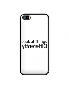 Coque iPhone 5/5S et SE Look at Different Things Black - Shop Gasoline