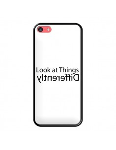 Coque iPhone 5C Look at Different Things Black - Shop Gasoline