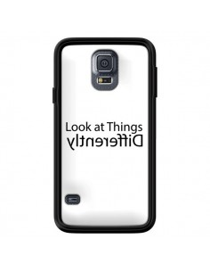 Coque Look at Different Things Black pour Samsung Galaxy S5 - Shop Gasoline