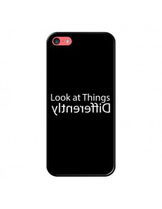 Coque iPhone 5C Look at Different Things White - Shop Gasoline