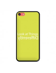 Coque iPhone 5C Look at Different Things Yellow - Shop Gasoline