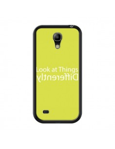 Coque Look at Different Things Yellow pour Samsung Galaxy S4 Mini - Shop Gasoline