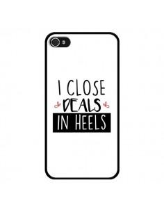 Coque iPhone 4 et 4S I close Deals in Heels - Shop Gasoline