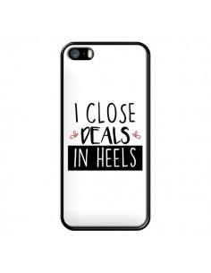 Coque iPhone 5/5S et SE I close Deals in Heels - Shop Gasoline