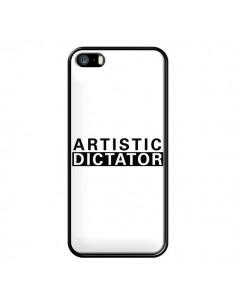 Coque iPhone 5/5S et SE Artistic Dictator Black - Shop Gasoline