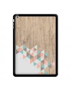 Coque Wood Bois Azteque Triangles Archiwoo pour iPad Air - Pura Vida