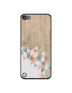 Coque Wood Bois Azteque Triangles Archiwoo pour iPod Touch 5 - Pura Vida