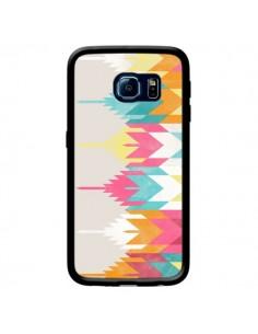 Coque Azteque Aztec Tribal Pura Vida pour Samsung Galaxy S6 Edge - Pura Vida