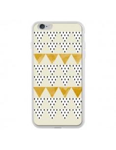 Coque iPhone 6 Plus et 6S Plus Triangles Or Garland Gold - Pura Vida
