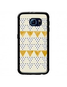 Coque Triangles Or Garland Gold pour Samsung Galaxy S6 - Pura Vida