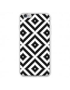 Coque iPhone 6 Plus et 6S Plus Diamond Chevron Black and White - Pura Vida