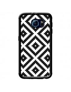 Coque Diamond Chevron Black and White pour Samsung Galaxy S6 - Pura Vida