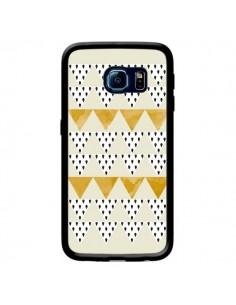 Coque Triangles Or Garland Gold pour Samsung Galaxy S6 Edge - Pura Vida