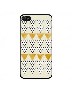 Coque iPhone 4 et 4S Triangles Or Garland Gold - Pura Vida