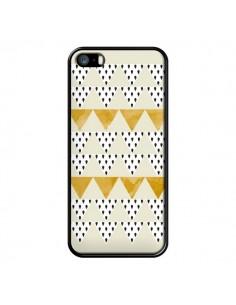 Coque iPhone 5/5S et SE Triangles Or Garland Gold - Pura Vida