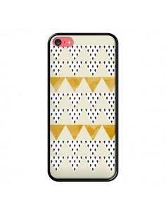 Coque iPhone 5C Triangles Or Garland Gold - Pura Vida