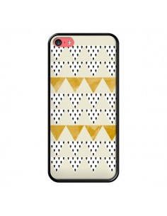 Coque Triangles Or Garland Gold pour iPhone 5C - Pura Vida